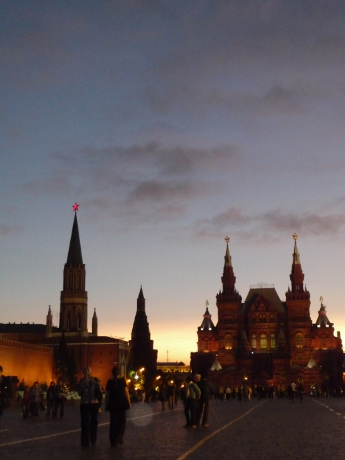 Evening in Red Square